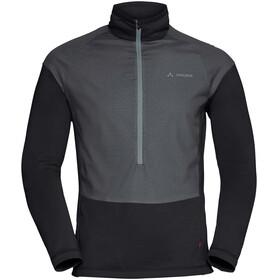 VAUDE M's Bormio Halfzip Hybrid Pullover black